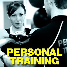personal training at the fitness room