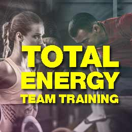 Total Energy Team Training at the Fitness Room Sheffield